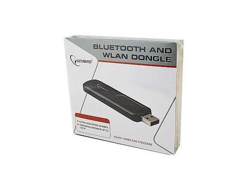 GEMBIRD Karta sieciowa USB WiFi+Bluetooth