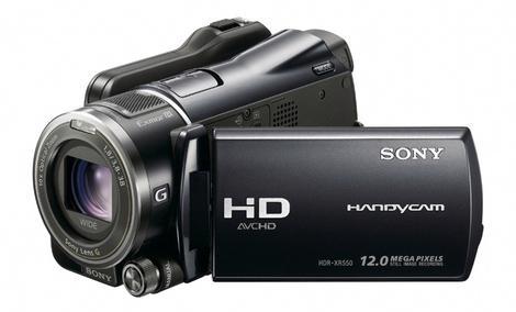SONY HDR-XR550 - slowmotion test