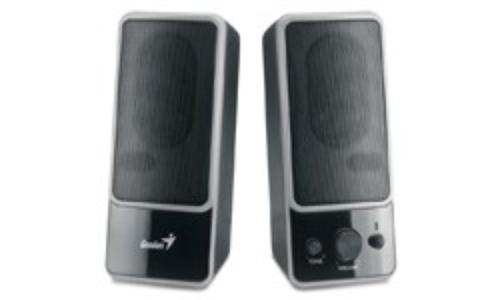 Genius Głośniki SP-M200, 6W, regulacja głośności, czarny