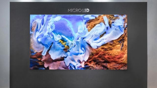 Telewizor Micro LED Samsunga będzie bardzo drogi