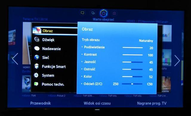 Samsung Smart TV 46UF8000 fot5
