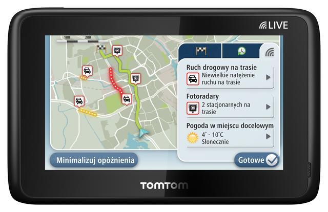 TomTom HD Traffic już w Polsce