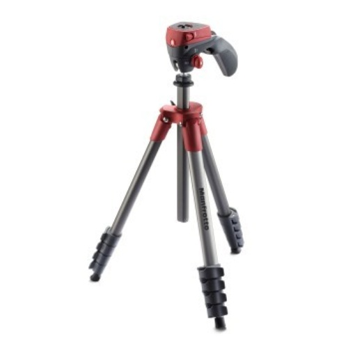 Manfrotto STATYW COMPACT ACTION CZERWONY