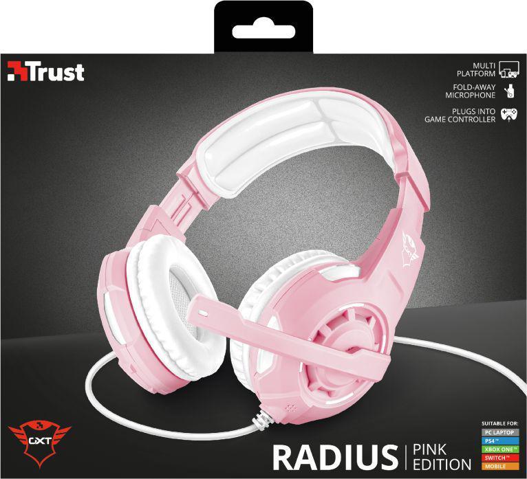 Trust GXT310P Radiu S różowe (23203)
