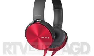 Sony MDR-XB450AP (czerwony) - dostępne w sklepach