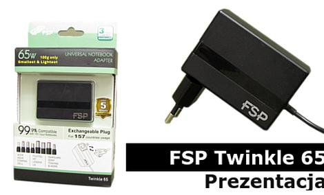 Najmniejszy Uniwersalny Adapter Świata - FSP Twinkle 65