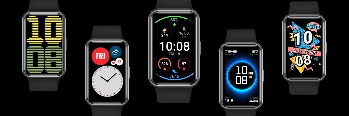 Huawei Watch Fit zaoferuje wiele tarcz