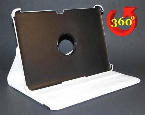 WEL.COM Etui obrotowe 360 stopni do samsung P7300 białe