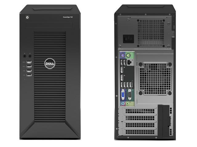 dell poweredge t20 videotesty recenzja