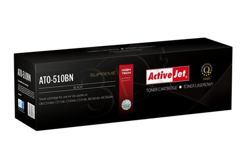 ActiveJet ATO-510BN czarny toner do drukarki laserowej OKI (zamiennik 44469804) Supreme
