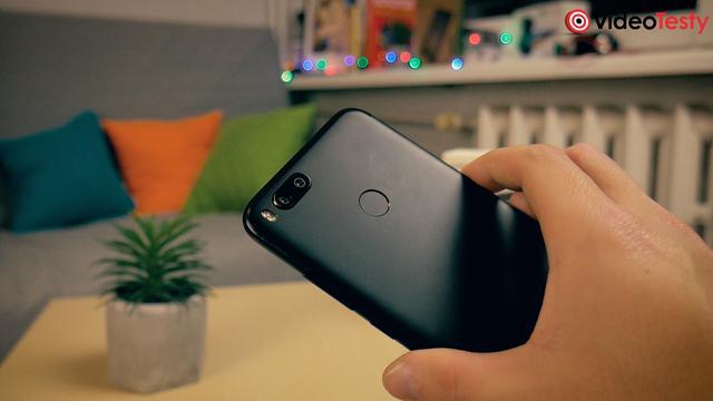 Xiaomi Mi A1 czytnik linii papilarnych
