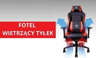 Fotel od Thermaltake Przewietrzy Wasze Pośladki