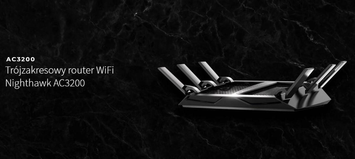 Trzypasmowy router Nighthawk AC3200