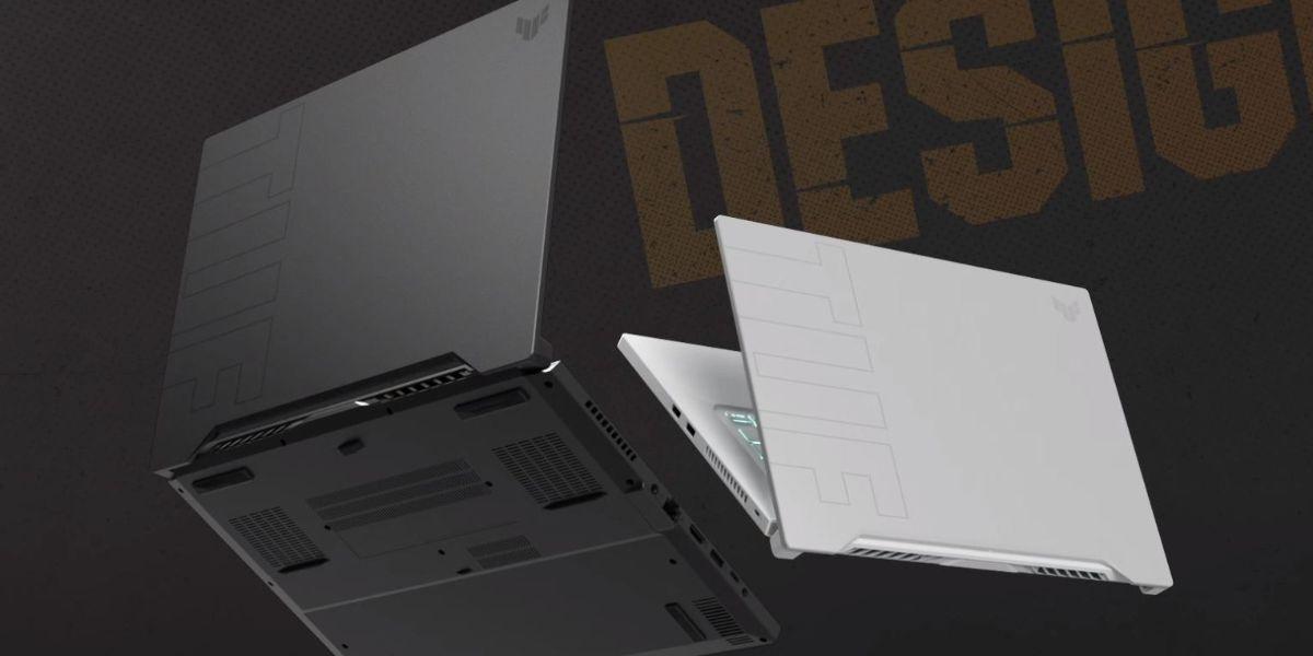 Dwa kolory ASUS TUF Dash F15