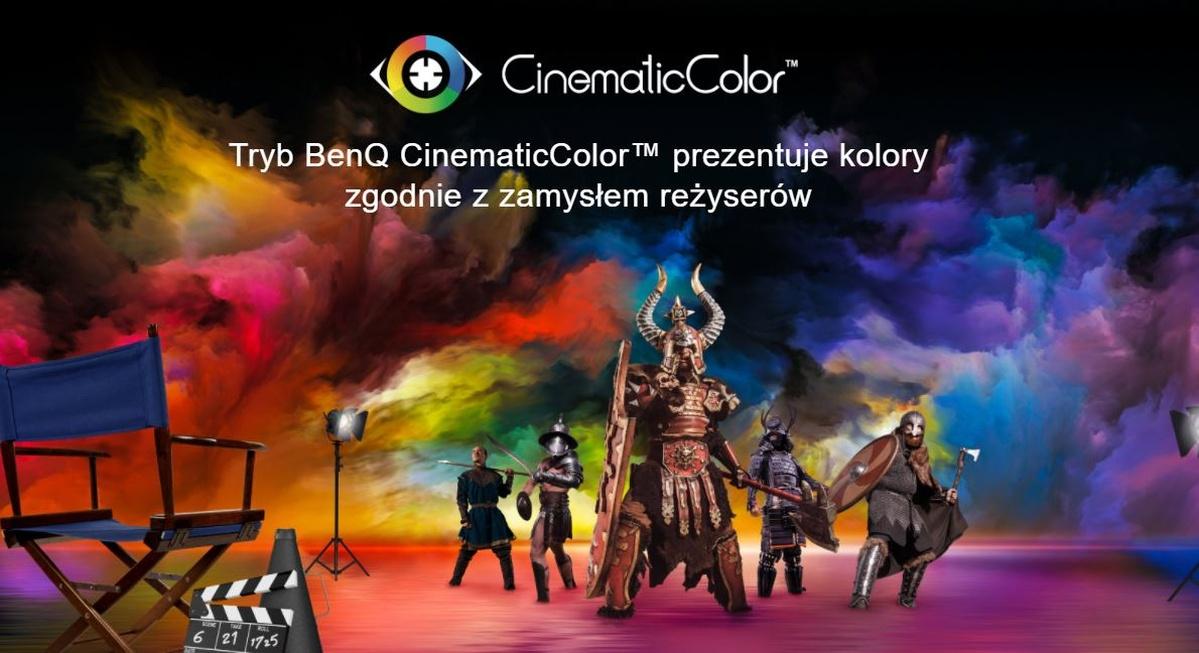 Technologia BenQ CinematicColor