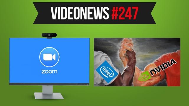 Zoom w ogniu kontrowersji, Intel i Nvidia kontra AMD - VideoNews #247