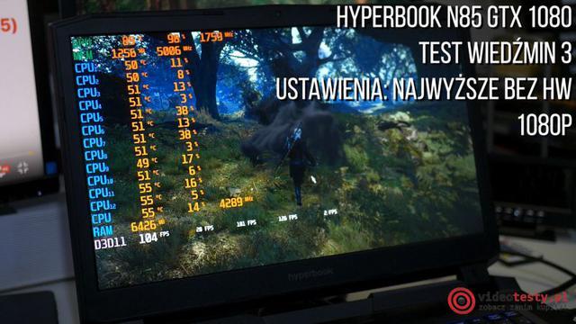 Hyperbook i granie w wiedzmina 3