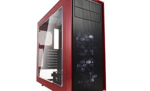Fractal Design Focus G Window czerwony