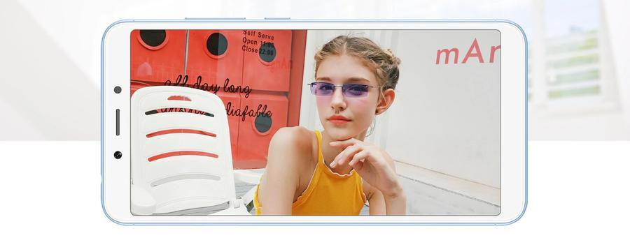 Selfie na Redmi 6A można wykonać z pomocą trybu Beautify