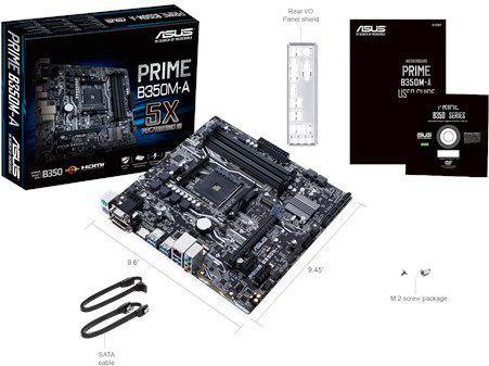 Asus Prime B350M-A (90MB0TE0-M0EAY0)