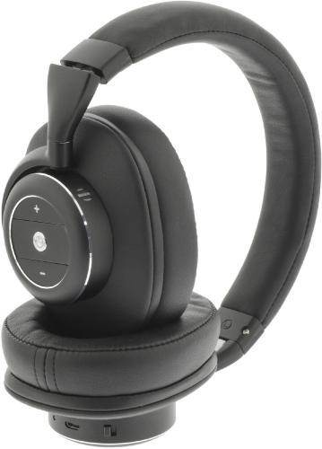 Sweex Headset Bluetooth / ANC (Active Noise Cancelling) Over-Ear Black/Silver (SWBTANCHS200BK)