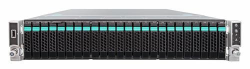 "Intel R2224WTTYS Platforma 2U 2xE5-2600v3/24xDIMM/24xHDD 2.5""/1100W 2x10GE"