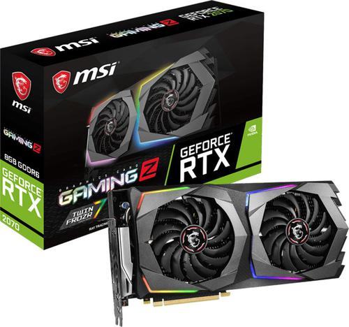 MSI GeForce RTX 2070 GAMING Z 8G 8GB GDDR6 (256 Bit), HDMI, 3xDP,