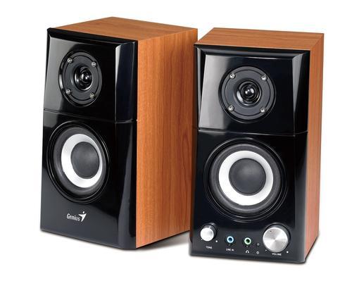 Genius Głośniki 2.0 SP-HF500A 14W, drewniane