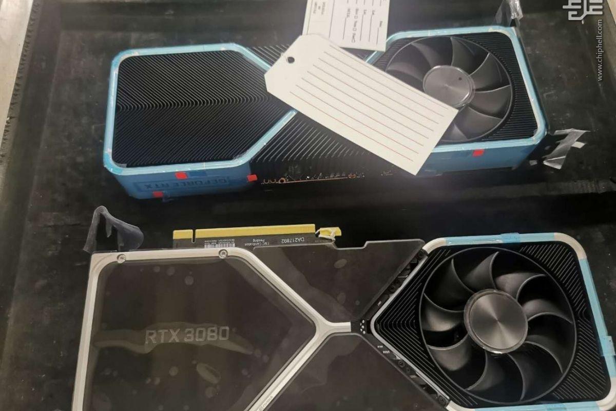 Rzekome zdjęcie nowej karty graficznej GeForce RTX 3080