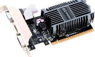 Inno3D GeForce GT 710 2GB DDR3 (64 bit) DVI, HDMI, D-Sub (N710-1SDV-E3BX)