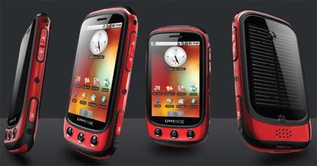 Umeox Apollo pierwszy smartphone na baterie słoneczne