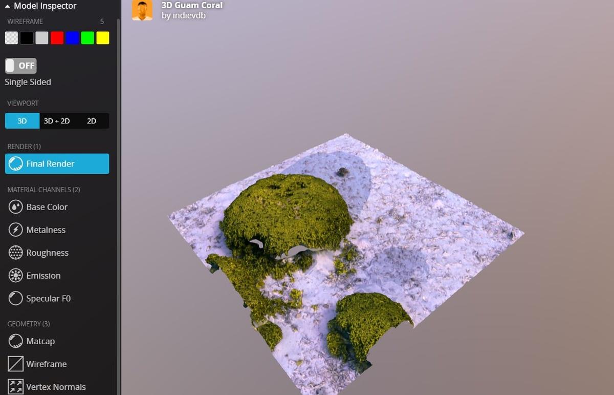 NeMO-net pozwala stworzyć mapę rafy koralowej online