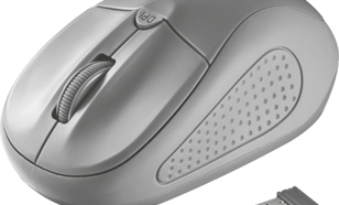 Trust Primo Wireless Mouse - grey