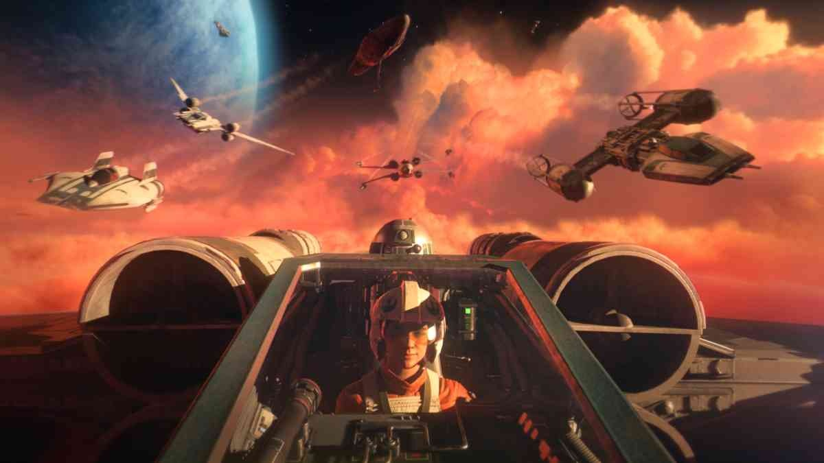 Star Wars: Squadrons - X fightery!