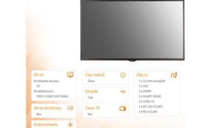 """LG Electronics 32"""" 33SE3B LED IPS FHD HDMI DVI 2USB RJ45 20W"""