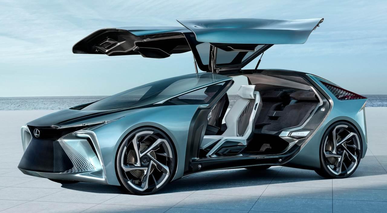 Lexus LF-30 to jedynie model koncepcyjny (Żródło: Lexus)