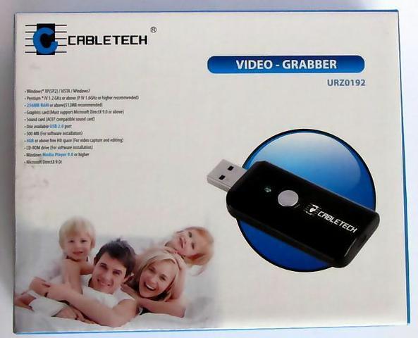 pudełko Video-Grabber Cabletech