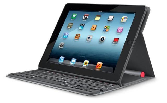 Logitech Solar Keyboard Folio - panele słoneczne i wygoda