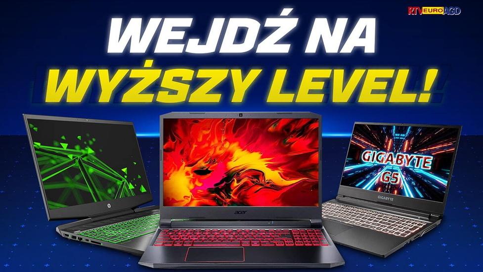 Laptopy gamingowe 800 zł taniej! Wejdź na wyższy poziom promocji
