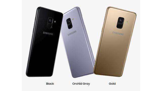 Samsung Galaxy A8 (2018) wersje kolorystyczne