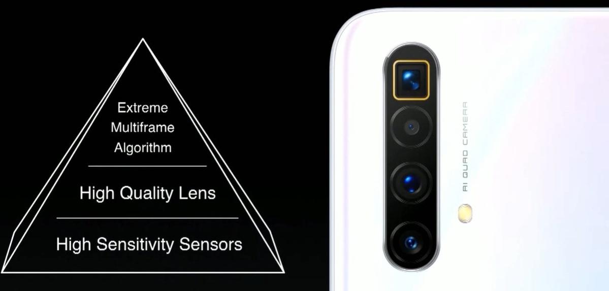 Cztery aparaty w realme X3 Superzoom z tyłu dają dużą elastyczność