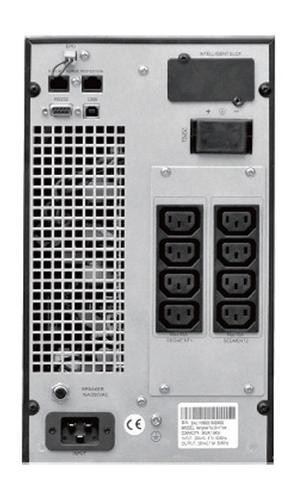 Lestar UPS Mep-2000 ONLINE LCD 8xIEC USB RS RJ 45