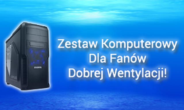 Zestaw Komputerowy Dla Fanów Dobrej Wentylacji!