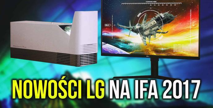 Gamingowe Monitory i Przenośne Projektory LG na IFA 2017