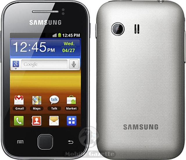 Samsung Galaxy Y - bardzo tani i niewielki smartfon