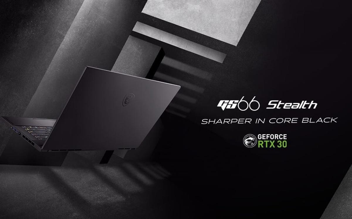GS66 Stealth to komputery dla profesjonalistów i graczy