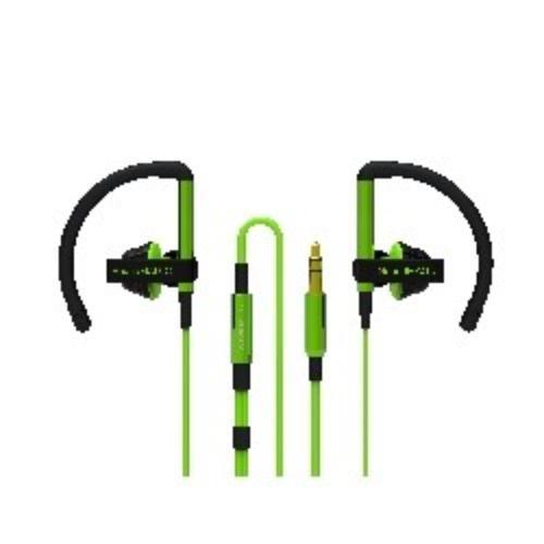 SoundMAGIC EH11 Green Sluchawki Sportowe Dokanalowe