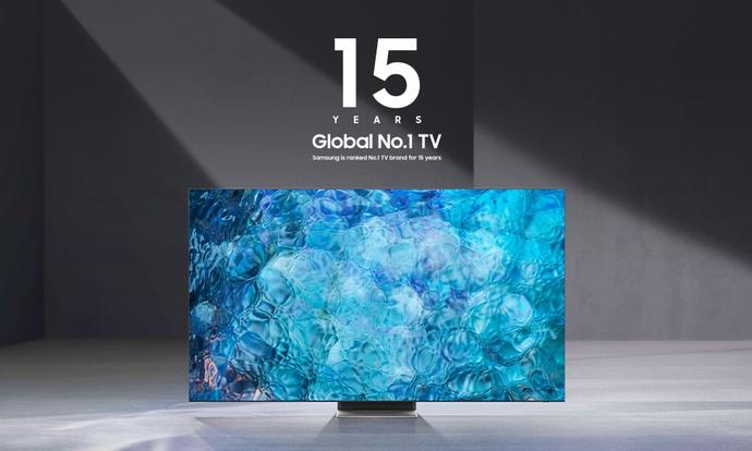Samsung po raz piętnasty globalnym liderem sprzedaży TV
