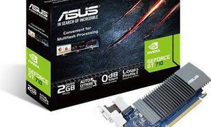 Asus GeForce GT 710 2GB GDDR5 (64 bit) HDMI, DVI, D-Sub, BOX (GT710-SL-2GD5)
