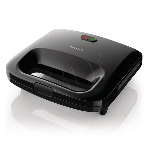 Opiekacz panini Philips HD 2395/90 (820W Czarny)
